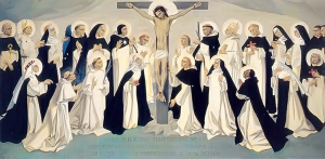 dominicans at the cross