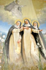 Blessed Diana, Blessed Cecilia, and Blessed Amata