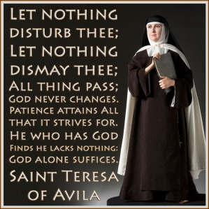 Avila Let nothing disturb