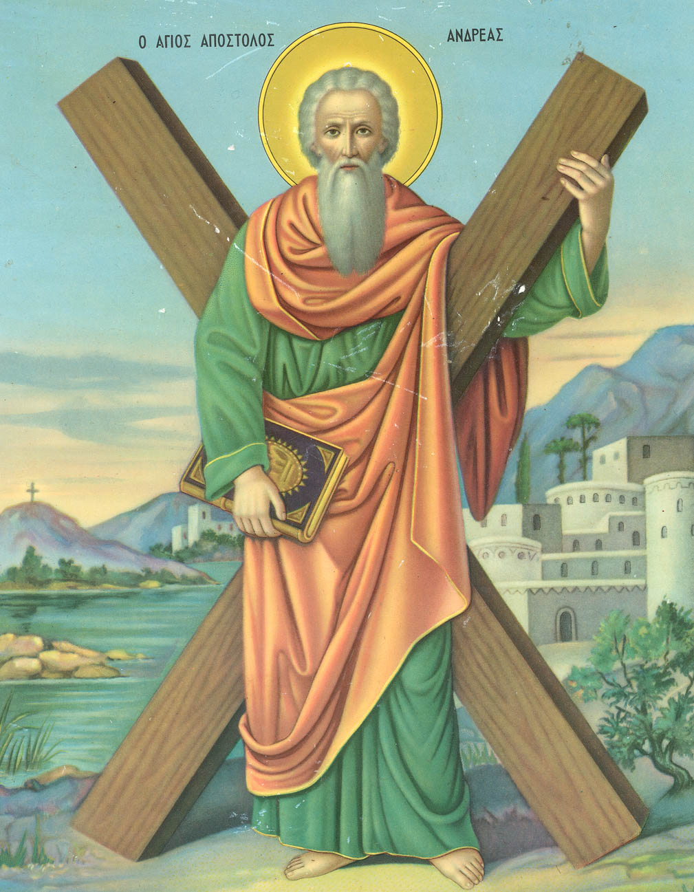 Image result for st andrew apostle